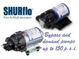 Shurflo 8000 series pumps