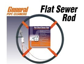 Flat Sewer Rods