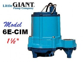 6E-CIM Wastewater/Effluent Pump