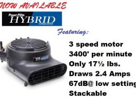 Powr Flite PDH Series Hybrid Air Movers