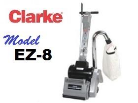 Clarke EZ-8 Floor Sander