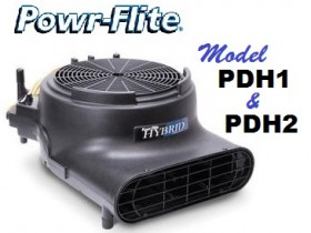 High Efficiency Hybrid Air Movers