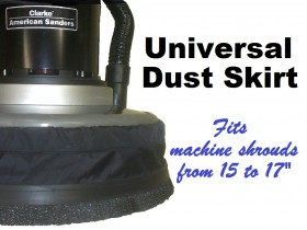 Dust Skirt for Rotary Machines